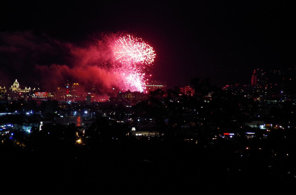 Fireworks Over Victoria